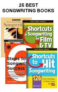 25 Best Songwriting Books