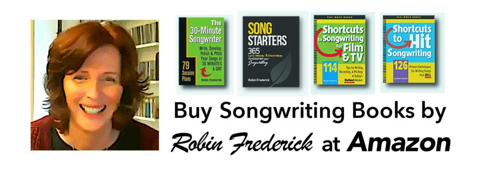 Robin's songwriting books on Amazon.com